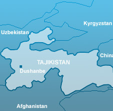 Tajik Map