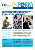 INFORM - ISSUE 06 - OCTOBER 2011 - Career guidance in ETF partner countries: A missing link in the transition from education to the labour market
