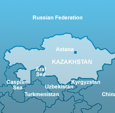 Kazak Map