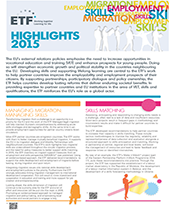 Highlights 2015 briefing note