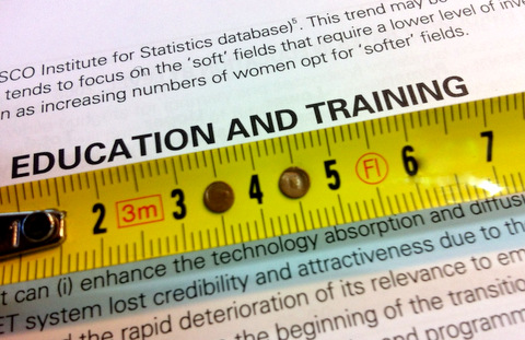 Measuring vocational education and training