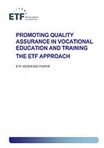 Promoting quality assurance in vocational education and training