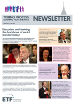 Torino process - Learning from evidence newsletter - May 2011