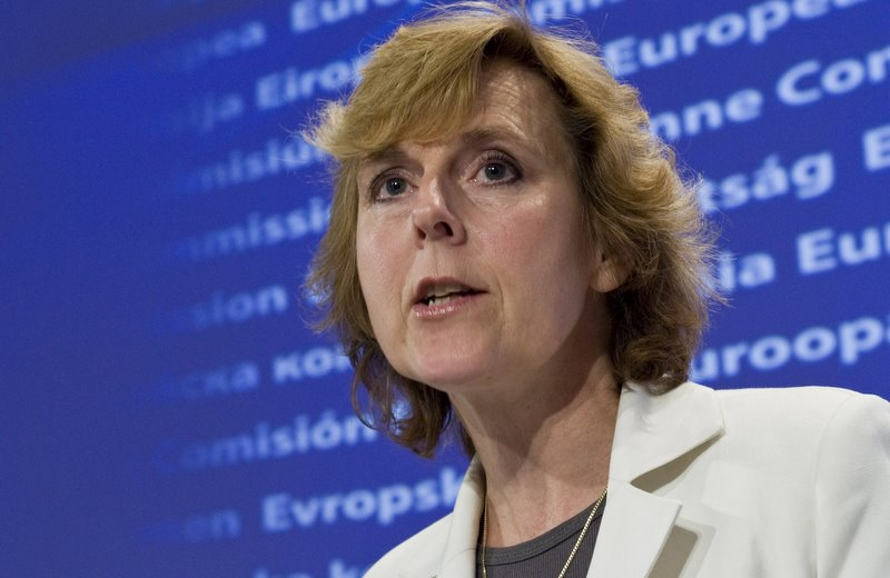Connie HEDEGAARD European Commissioner from Denmark and in charge of Climate Action