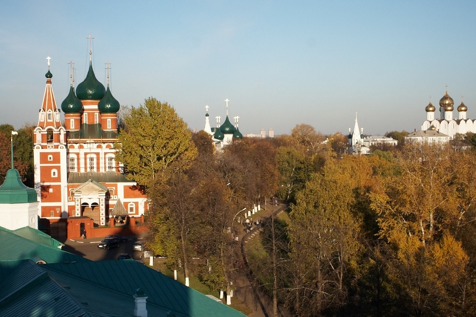 Yaroslavl, view of the city