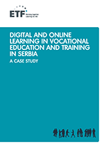 Digital and online learning in vocational education and training in Serbia