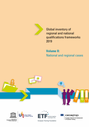 Global inventory of regional and national qualifications frameworks 2019 – Volume II: National and regional cases