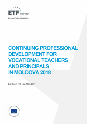 Continuing professional development for vocational teachers and principals in Moldova 2018