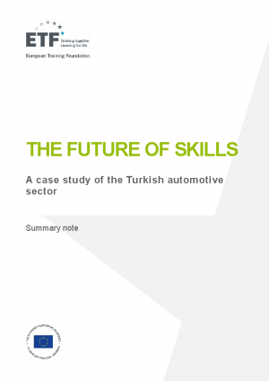 The future of skills: A case study of the Turkish automotive sector
