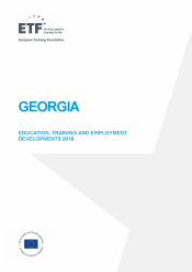 Georgia: Education, training and employment developments 2018
