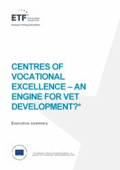 Centres of vocational excellence: An engine for VET development?