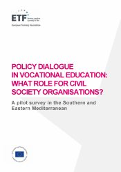 Policy dialogue in vocational education: What role for civil society organisations?