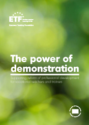 The power of demonstration: Supporting reform of professional development for vocational teachers and trainers