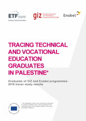 Tracing technical and vocational education graduates in Palestine