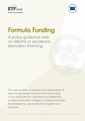 Formula funding: A policy guidance note on reforms in vocational education financing