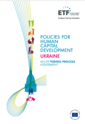 Policies for human capital development: Ukraine - An ETF Torino Process Assessment