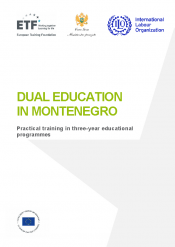 Dual education in Montenegro: Practical training in three-year educational programmes
