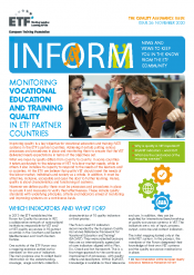 INFORM – Issue 26 – Monitoring vocational education and training quality in ETF partner countries
