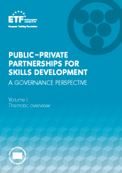 Public–private partnerships for skills development: A governance perspective – Volume I. Thematic overview