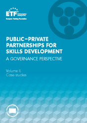 Public–private partnerships for skills development: A governance perspective – Volume II. Case studies