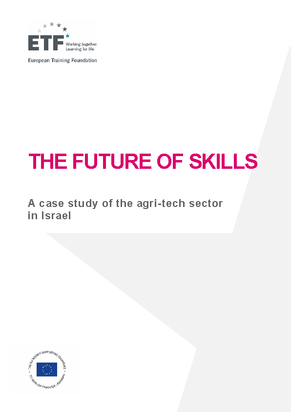 The future of skills: A case study of the agri-tech sector in Israel