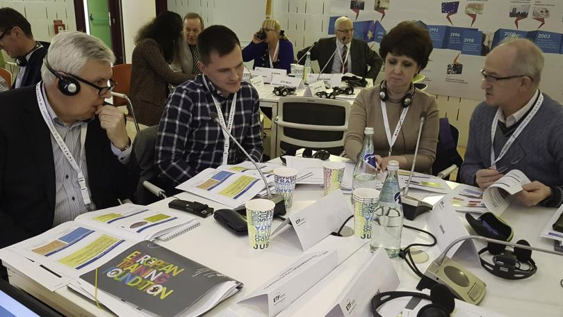 Training for National Qualifications Agency in Ukraine