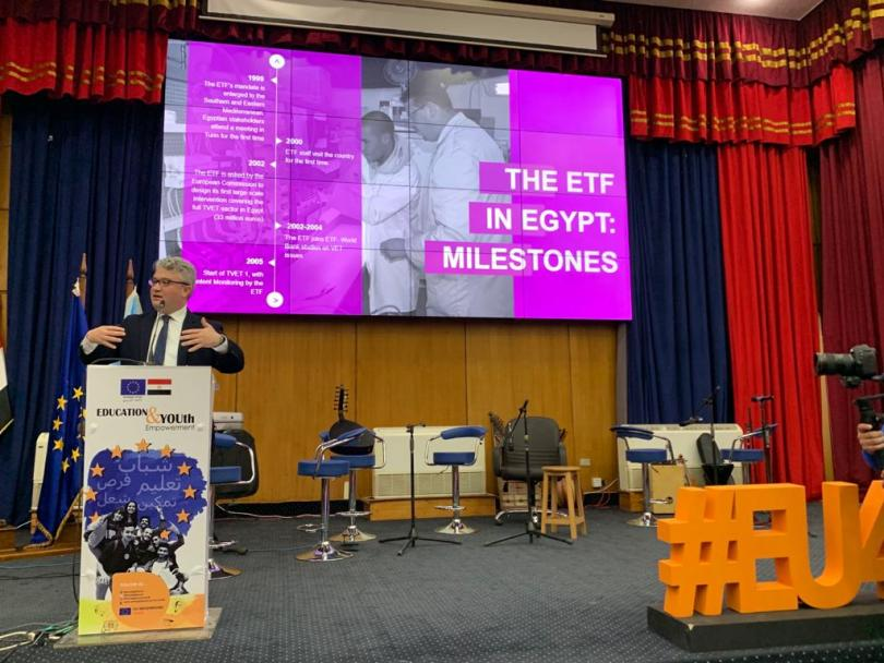 Joining The Eu Campus Tour In Egypt At The University Of Alexandria Etf